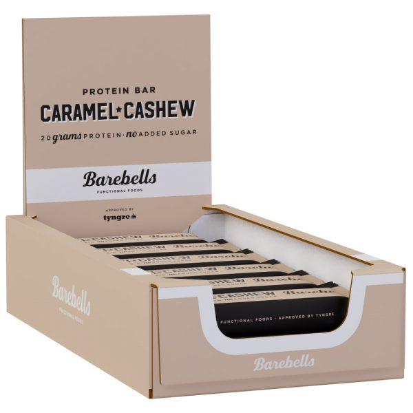 12 X Barebells Protein Bar, 55 G Caramel And Cashew