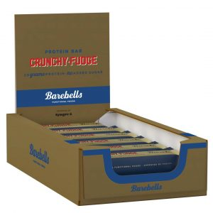 12 X Barebells Protein Bar, 55 G, Chrunchy Fudge