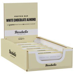12 X Barebells Protein Bar, 55 G, White Chocolate Almond