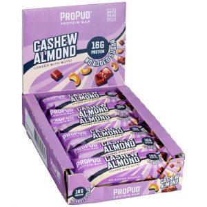 12 X Njie Propud Proteinbar, 55 G, Cashew Almond