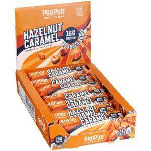 12 X Njie Propud Proteinbar, 55 G, Hazelnut Caramel