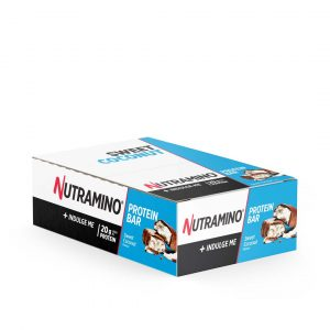 16 X Nutramino Proteinbar, 66 G, Coconut