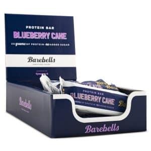 Barebells Protein Bar Blueberry Cake 12-pack