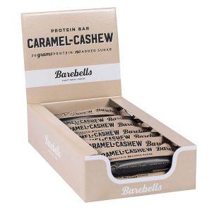 Barebells Protein Bar - Caramel & Cashew 55g x 12st