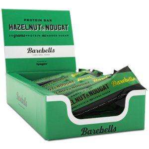 Barebells Protein Bar Hazelnut & Nougat 12-pack