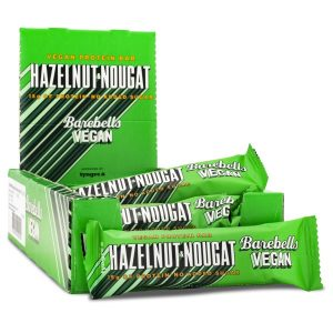 Barebells Vegan Bar Hazelnut & Nougat 12-pack