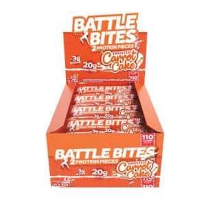 Battle Bites Protein Bars 12 x 62g - Carrot Cake