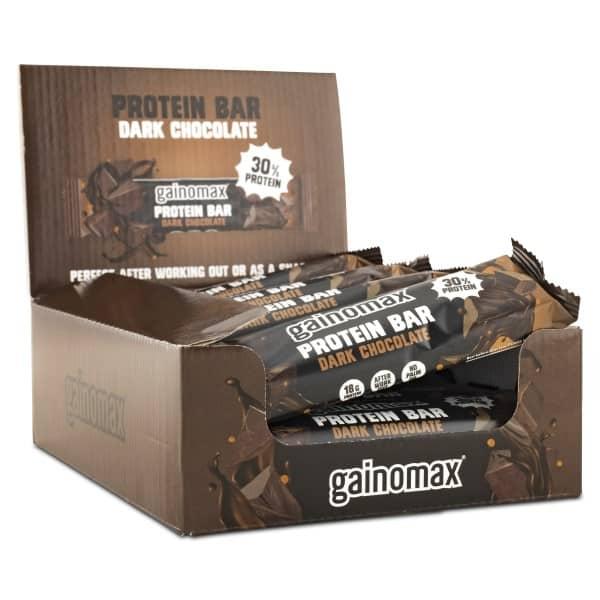 Gainomax Protein Bar Dark chocolate 15-pack