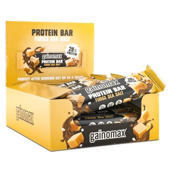 Gainomax Protein Bar Fudge Seasalt 15-pack