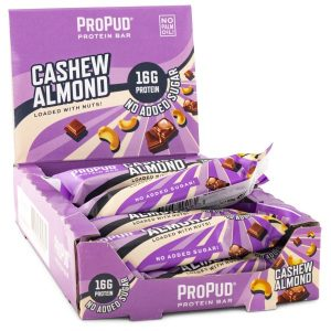 Njie Propud Protein Bar Cashew Almond 12-pack