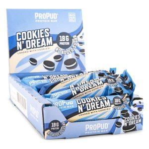 Njie Propud Protein Bar Cookies n' Dream 12-pack