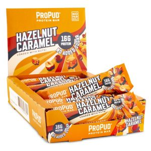 Njie Propud Protein Bar Hazelnut Caramel 12-pack