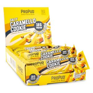Njie Propud Protein Bar Salty Caramello Cookie 12-pack
