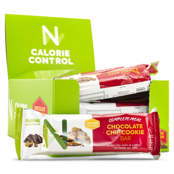 Nutrilett Smart Meal Bar Chocolate Chip cookie 20-pack